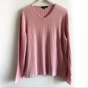 J.Crew Pima Cotton V-Neck Sweater